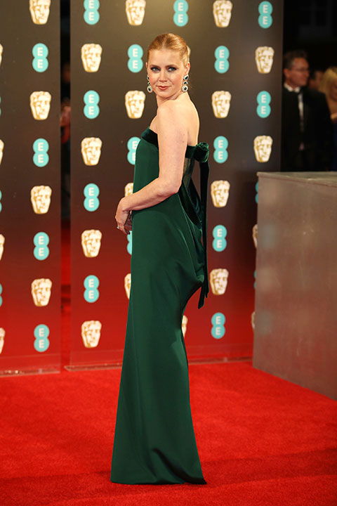 """<div class=""""meta image-caption""""><div class=""""origin-logo origin-image none""""><span>none</span></div><span class=""""caption-text"""">Amy Adams arrives at the British Academy Film Awards in London, Sunday, Feb. 12, 2017. (Vianney Le Caer/Invision/AP)</span></div>"""