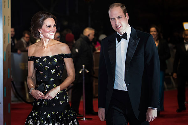 "<div class=""meta image-caption""><div class=""origin-logo origin-image none""><span>none</span></div><span class=""caption-text"">Princess Kate and Prince William arrive at the British Academy Film Awards in London, Sunday, Feb. 12, 2017. (Vianney Le Caer/Invision/AP)</span></div>"