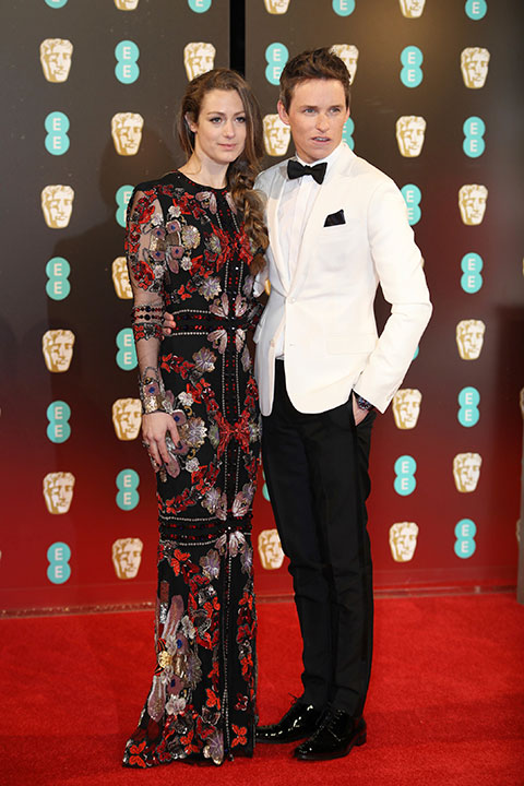 "<div class=""meta image-caption""><div class=""origin-logo origin-image none""><span>none</span></div><span class=""caption-text"">Eddie Redmayne, right, and Hannah Bagshawe arrive at the British Academy Film Awards in London, Sunday, Feb. 12, 2017. (Vianney Le Caer/Invision/AP)</span></div>"