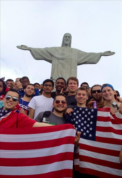 "<div class=""meta image-caption""><div class=""origin-logo origin-image ""><span></span></div><span class=""caption-text"">A group of Danville, California boys who played soccer together growing up went to watch the World Cup!  Here they are in front of Brazil's Christ the Redeemer statue. (photo submitted via uReport)</span></div>"