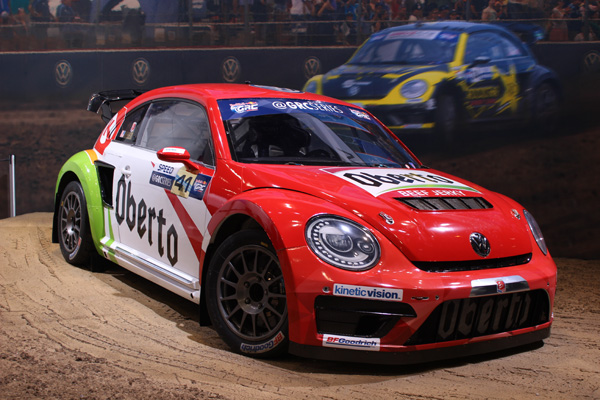 <div class='meta'><div class='origin-logo' data-origin='WLS'></div><span class='caption-text' data-credit=''>The Volkswagen Beetle GRC at the 2017 Chicago Auto Show at McCormick Place on Feb. 11, 2017.</span></div>