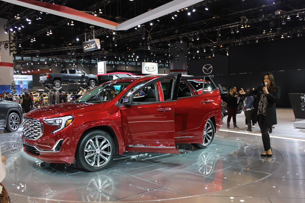 "<div class=""meta image-caption""><div class=""origin-logo origin-image wls""><span>WLS</span></div><span class=""caption-text"">The all-new 2018 GMC Terrain at the 2017 Chicago Auto Show at McCormick Place on Feb. 11, 2017.</span></div>"