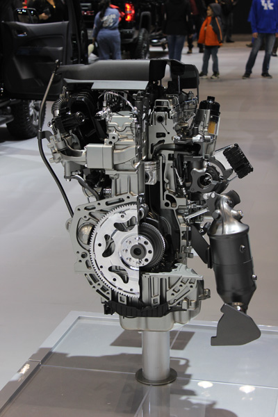 "<div class=""meta image-caption""><div class=""origin-logo origin-image wls""><span>WLS</span></div><span class=""caption-text"">A GMC Duramax 2.8L Turbo Diesel engine on display at the 2017 Chicago Auto Show at McCormick Place on Feb. 11, 2017.</span></div>"