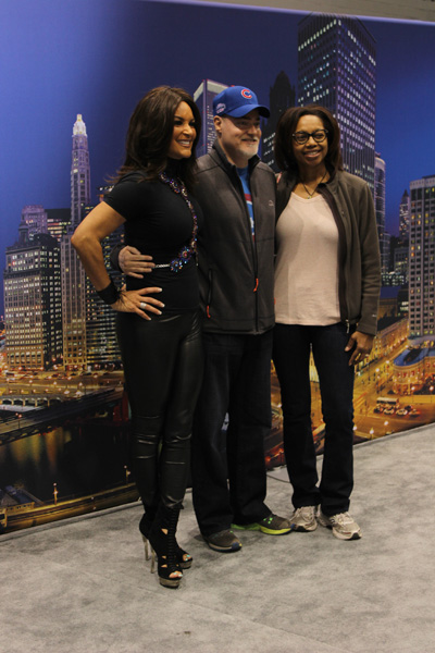 "<div class=""meta image-caption""><div class=""origin-logo origin-image wls""><span>WLS</span></div><span class=""caption-text"">ABC7's Cheryl Burton poses with visitors at the 2017 Chicago Auto Show at McCormick Place on Feb. 11, 2017.</span></div>"