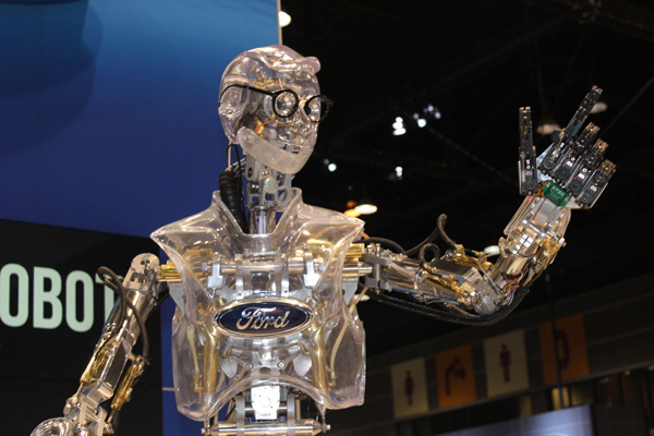 "<div class=""meta image-caption""><div class=""origin-logo origin-image wls""><span>WLS</span></div><span class=""caption-text"">Hank the Robot entertains the crowd at the Ford exhibit at the 2017 Chicago Auto Show on February 13, 2017.</span></div>"