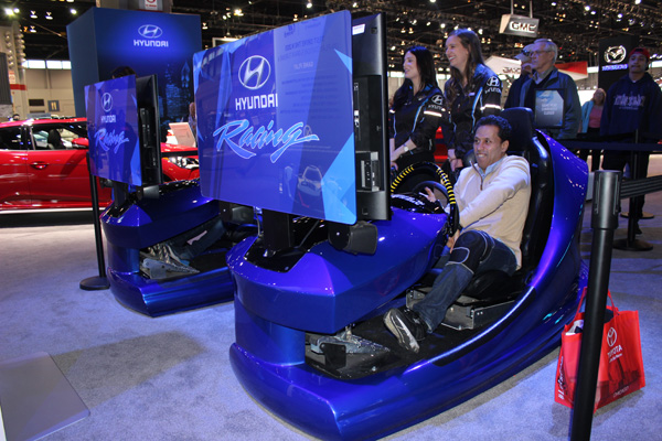 "<div class=""meta image-caption""><div class=""origin-logo origin-image wls""><span>WLS</span></div><span class=""caption-text"">Visitors try the Hyundai Racing Challenge racetrack simulation at the 2017 Chicago Auto Show on February 13, 2017.</span></div>"