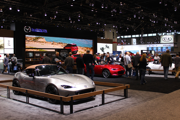 "<div class=""meta image-caption""><div class=""origin-logo origin-image wls""><span>WLS</span></div><span class=""caption-text"">The Mazda exhibit at the 2017 Chicago Auto Show at McCormick Place on February 13, 2017.</span></div>"