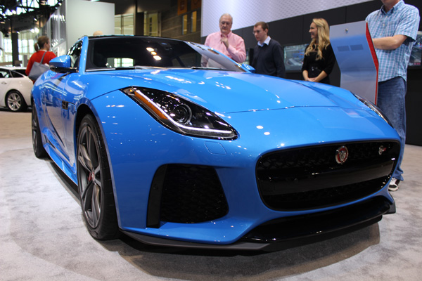 "<div class=""meta image-caption""><div class=""origin-logo origin-image wls""><span>WLS</span></div><span class=""caption-text"">The 2017 Jaguar F-Type at the 2017 Chicago Auto Show on Feb. 13, 2017.</span></div>"
