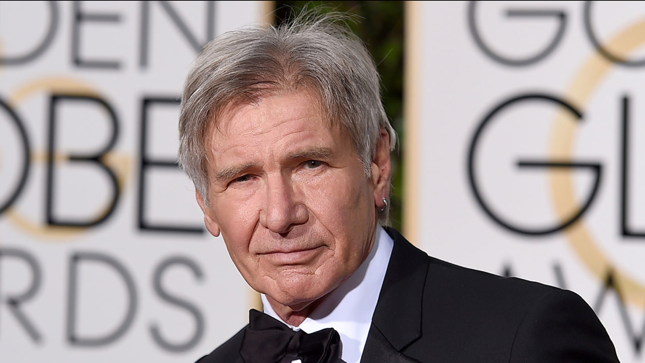 Harrison Ford, pictured in January 2016.