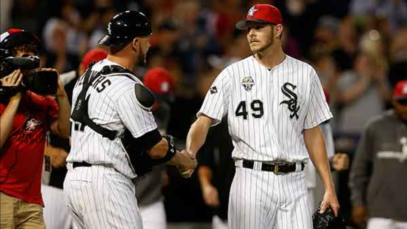 purchase cheap 6b74e 84fea Anthony Rizzo, Chris Sale in All-Star Game roster ...