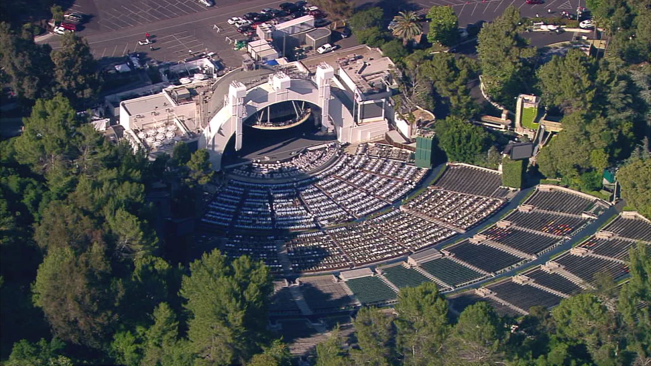 The Hollywood Bowl.