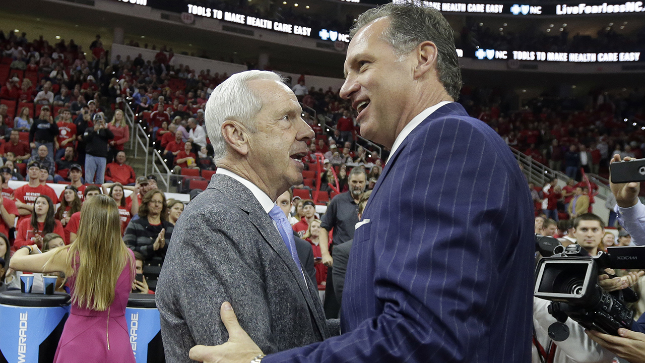 UNC coach Roy Williams and N.C. State coach Mark Gottfried may have faced each other for the last time in ACC play.
