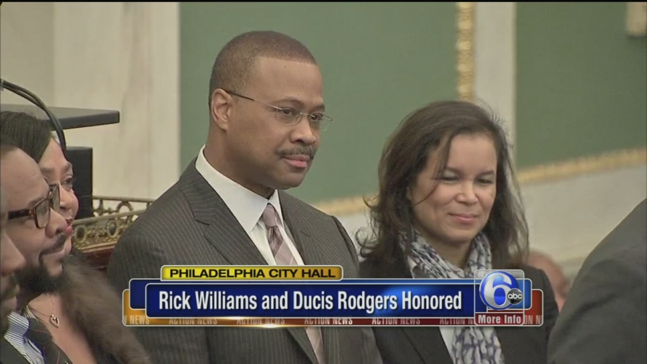 Rick Williams Ducis Rodgers Named Living Legends By City Council