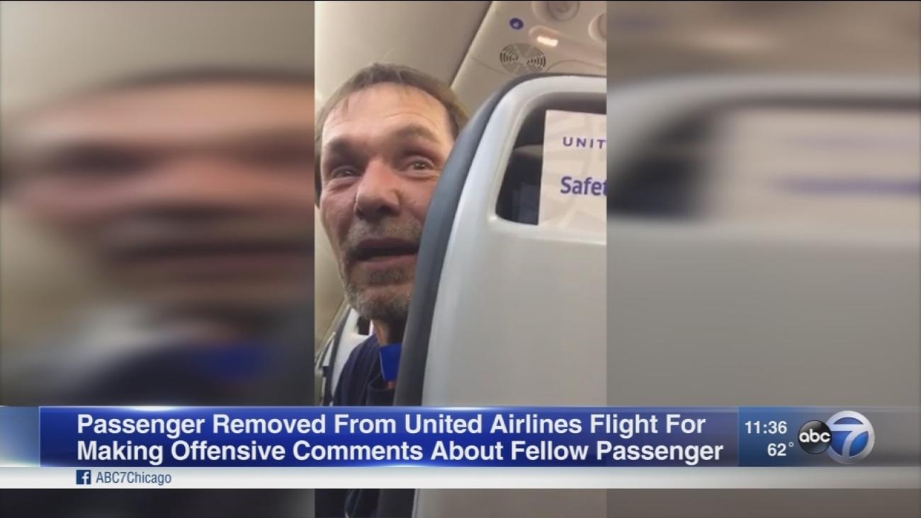 Passenger removed from flight