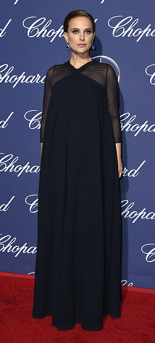<div class='meta'><div class='origin-logo' data-origin='none'></div><span class='caption-text' data-credit='Jordan Strauss/Invision/AP'>Natalie Portman arrives at the 28th annual Palm Springs International Film Festival Awards Gala on Monday, Jan. 2, 2017, in Palm Springs, Calif.</span></div>
