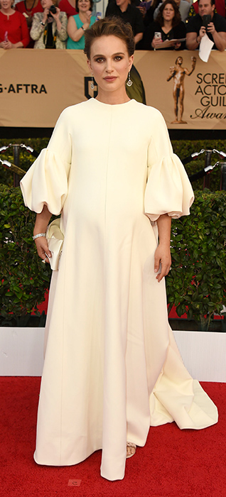 <div class='meta'><div class='origin-logo' data-origin='none'></div><span class='caption-text' data-credit='Jordan Strauss/Invision/AP'>Natalie Portman arrives at the 23rd annual Screen Actors Guild Awards at the Shrine Auditorium & Expo Hall on Sunday, Jan. 29, 2017, in Los Angeles.</span></div>