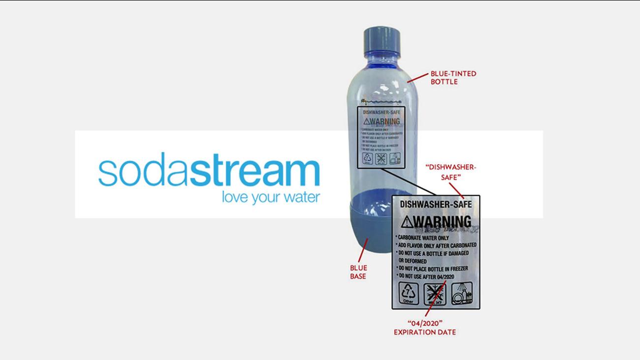 SodaStream recalls bottles for explosion risk