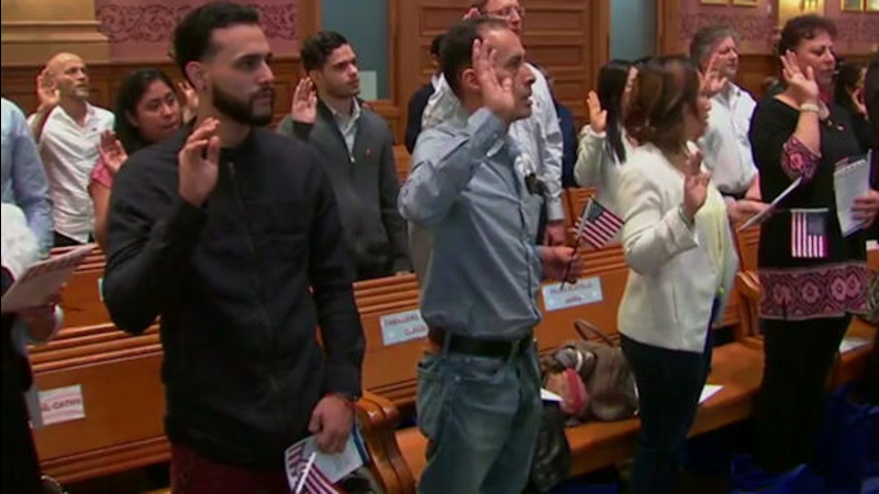 26 new Americans sworn in at Jersey City naturalization ceremony