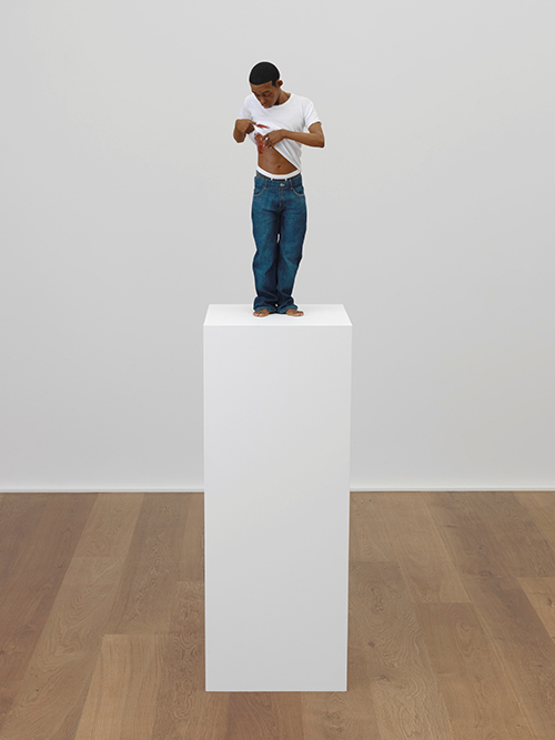 "<div class=""meta image-caption""><div class=""origin-logo origin-image ktrk""><span>KTRK</span></div><span class=""caption-text"">Ron Mueck, Youth, 2009, mixed media, ISelf Collection, London. Courtesy Hauser & Wirth. Photo: Alex Delfanne. © Ron Mueck</span></div>"