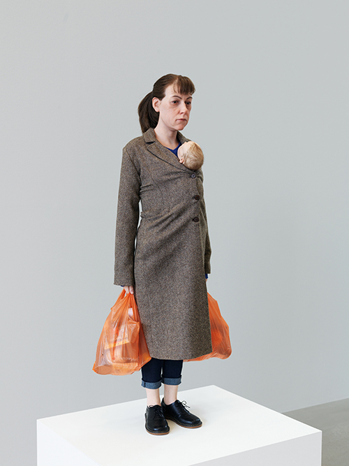 "<div class=""meta image-caption""><div class=""origin-logo origin-image ktrk""><span>KTRK</span></div><span class=""caption-text"">Ron Mueck, Woman with Shopping, 2013, mixed media, Collection of the artist, Courtesy Hauser & Wirth and Anthony d'Offay, London. Photo: Patrick Gries. © Ron Mueck</span></div>"
