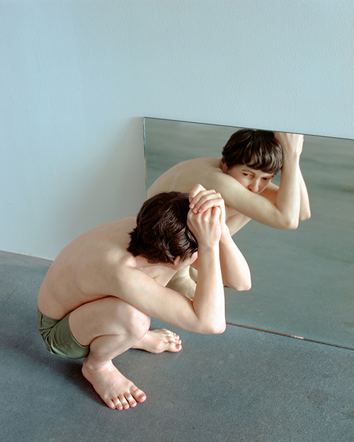 "<div class=""meta image-caption""><div class=""origin-logo origin-image ktrk""><span>KTRK</span></div><span class=""caption-text"">Ron Mueck, Crouching Boy in Mirror, 1999–2002, mixed media, The Broad Art Foundation.© Ron Mueck</span></div>"