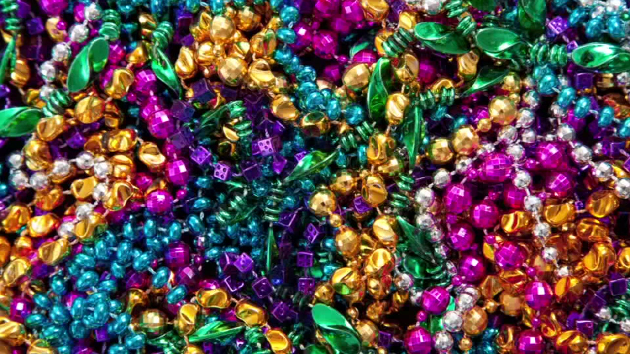 mardi beads acrylic accessories gras art costume carnival lousiana pin