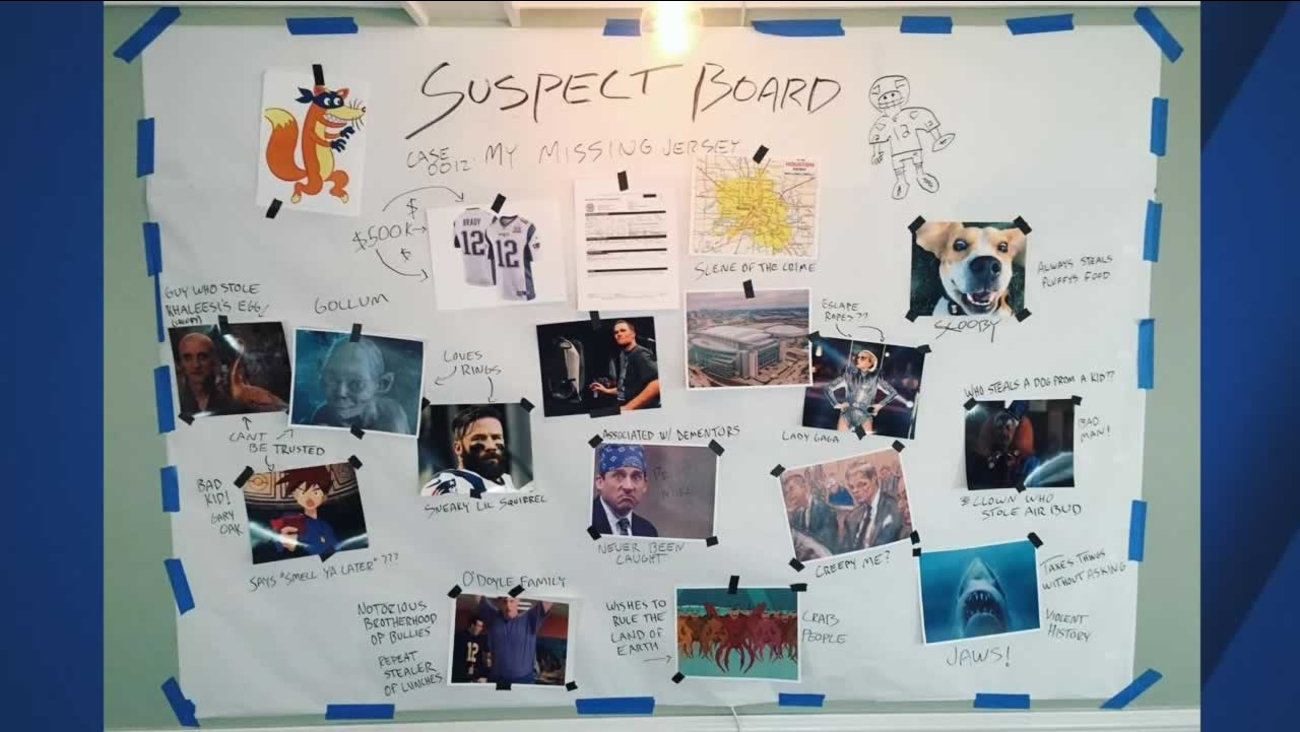 Find Board patriots qb tom brady creates 'suspect board' to find