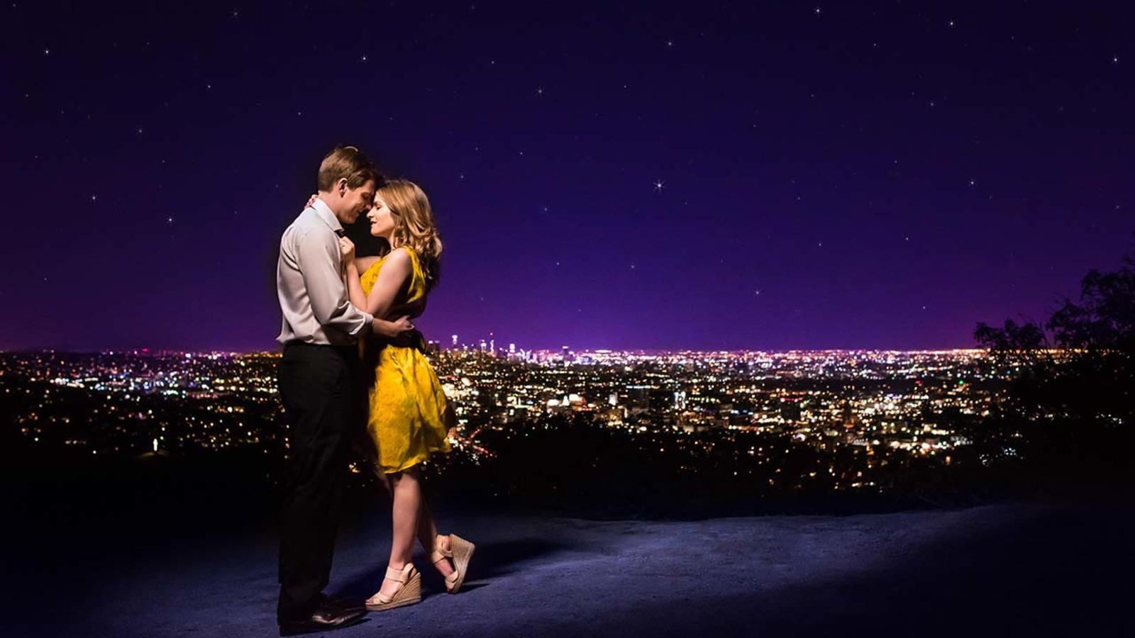 La La Land Engagement Photos Honor Love And Hollywood Abc13 Houston