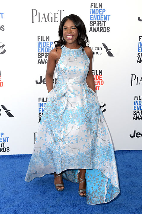 "<div class=""meta image-caption""><div class=""origin-logo origin-image none""><span>none</span></div><span class=""caption-text"">Edwina Findley Dickerson arrives at the Film Independent Spirit Awards on Saturday, Feb. 25, 2017, in Santa Monica, Calif. (Richard Shotwell/Invision/AP)</span></div>"