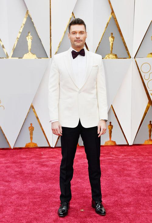 """<div class=""""meta image-caption""""><div class=""""origin-logo origin-image none""""><span>none</span></div><span class=""""caption-text"""">Ryan Seacrest attends the 89th Annual Academy Awards at Hollywood & Highland Center on February 26, 2017 in Hollywood, California. (Photo by Frazer Harrison/Getty Images)</span></div>"""