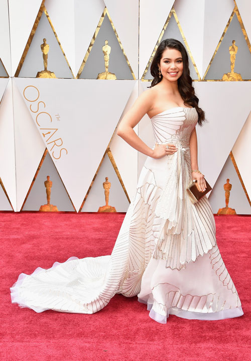 <div class='meta'><div class='origin-logo' data-origin='none'></div><span class='caption-text' data-credit='Photo by Steve Granitz/WireImage'>Actor Auli'i Cravalho attends the 89th Annual Academy Awards at Hollywood & Highland Center on February 26, 2017 in Hollywood, California.</span></div>