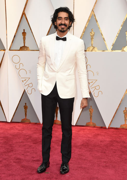 <div class='meta'><div class='origin-logo' data-origin='AP'></div><span class='caption-text' data-credit='Photo by Jordan Strauss/Invision/AP'>Dev Patel arrives at the Oscars on Sunday, Feb. 26, 2017, at the Dolby Theatre in Los Angeles.</span></div>