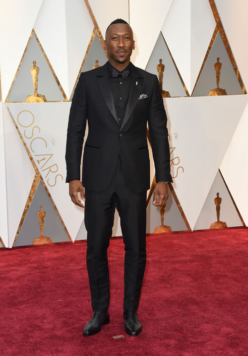 """<div class=""""meta image-caption""""><div class=""""origin-logo origin-image ap""""><span>AP</span></div><span class=""""caption-text"""">Mahershala Ali arrives at the Oscars on Sunday, Feb. 26, 2017, at the Dolby Theatre in Los Angeles. (Photo by Jordan Strauss/Invision/AP)</span></div>"""