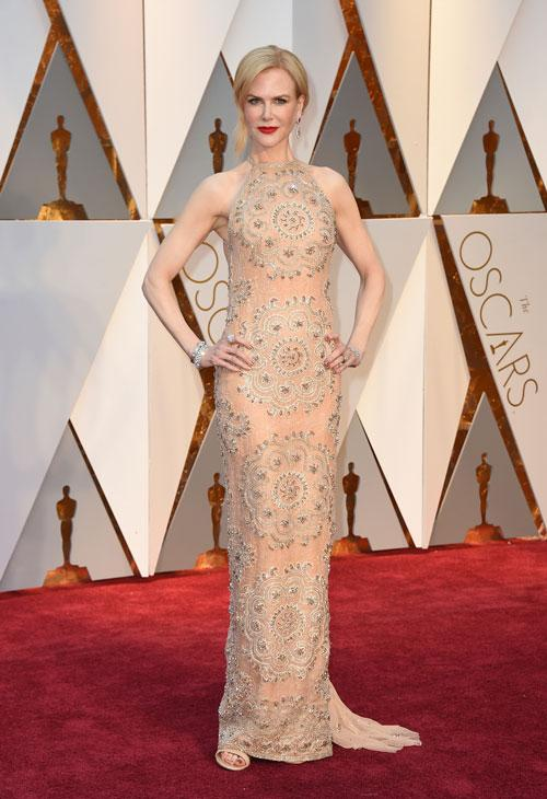 "<div class=""meta image-caption""><div class=""origin-logo origin-image ap""><span>AP</span></div><span class=""caption-text"">Nicole Kidman arrives at the Oscars on Sunday, Feb. 26, 2017, at the Dolby Theatre in Los Angeles. (Photo by Jordan Strauss/Invision/AP)</span></div>"