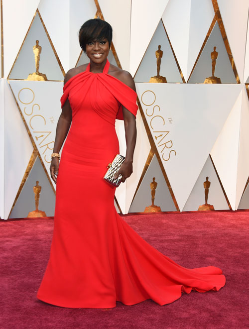 "<div class=""meta image-caption""><div class=""origin-logo origin-image ap""><span>AP</span></div><span class=""caption-text"">Viola Davis arrives at the Oscars on Sunday, Feb. 26, 2017, at the Dolby Theatre in Los Angeles. (Photo by Jordan Strauss/Invision/AP)</span></div>"