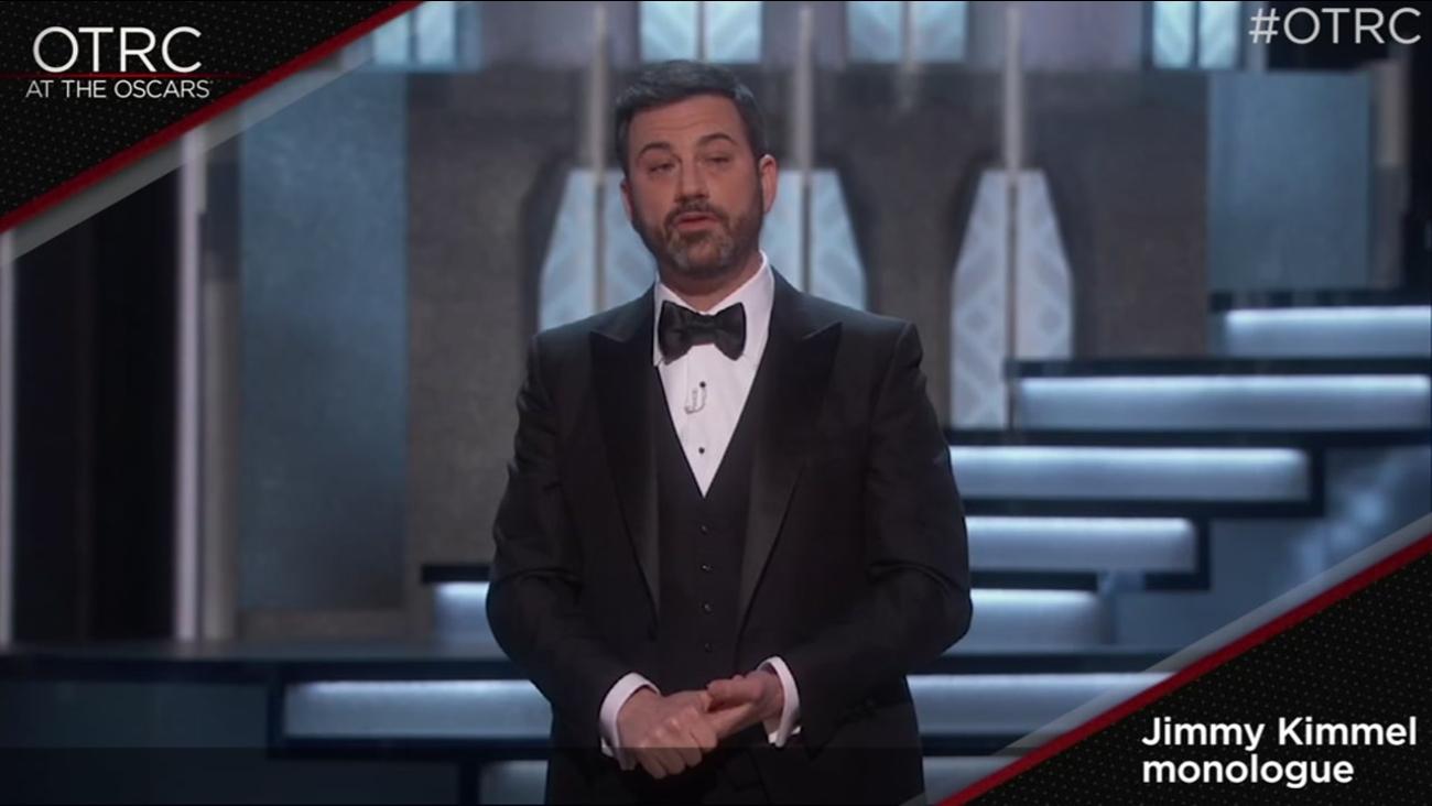 Jimmy Kimmel's monologue