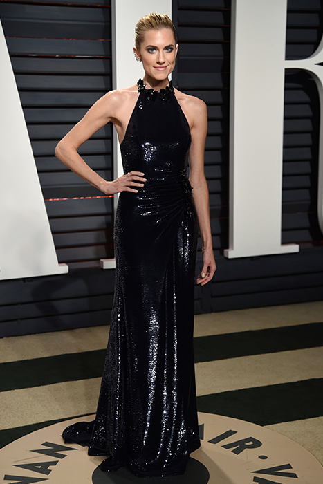 "<div class=""meta image-caption""><div class=""origin-logo origin-image ap""><span>AP</span></div><span class=""caption-text"">Allison Williams arrives at the Vanity Fair Oscar Party on Sunday, Feb. 26, 2017, in Beverly Hills, Calif. (Evan Agostini/Invision/AP)</span></div>"