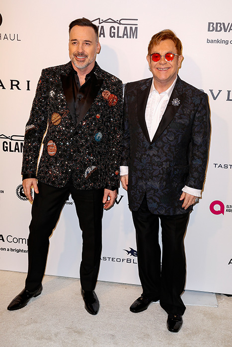 "<div class=""meta image-caption""><div class=""origin-logo origin-image ap""><span>AP</span></div><span class=""caption-text"">Sir Elton John, right, and David Furnish arrive at the 2017 Elton John AIDS Foundation Oscar Viewing Party on Sunday, Feb. 27, 2017, in West Hollywood, Calif. (Willy Sanjuan/Invision/AP)</span></div>"
