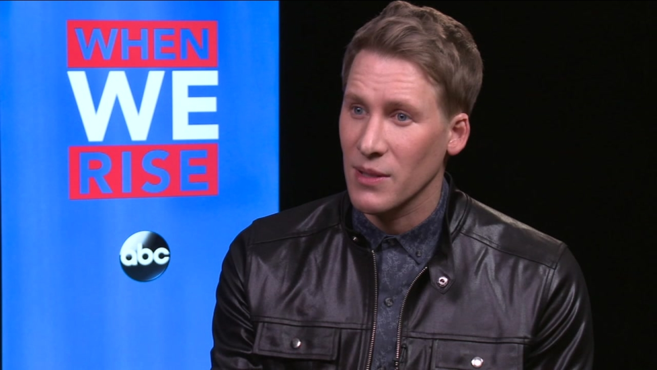 "Oscar-winning screenwriter Dustin Lance Black discusses ""When We Rise."""