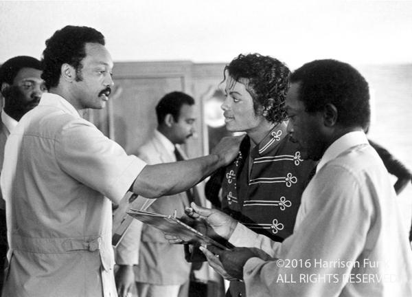 <div class='meta'><div class='origin-logo' data-origin='none'></div><span class='caption-text' data-credit='Harrison Funk/ALL RIGHTS RESERVED'>Jessie Jackson meets with Michael Jackson in Kansas City in 1984.</span></div>