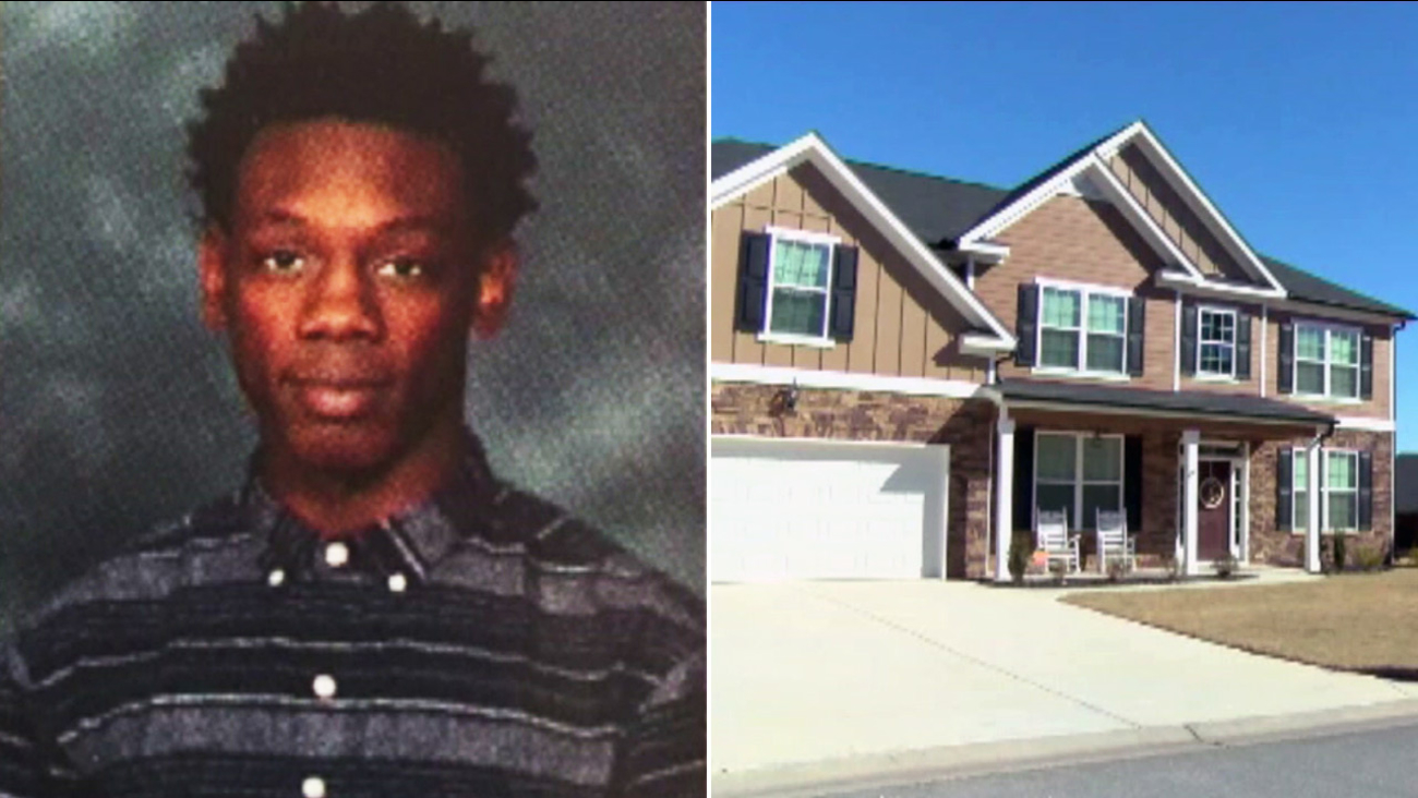 Authorities said 17-year-old Jordan Middleton (left) was shot and killed by a homeowner who mistook him for a intruder on Saturday, Feb. 25, 2017.