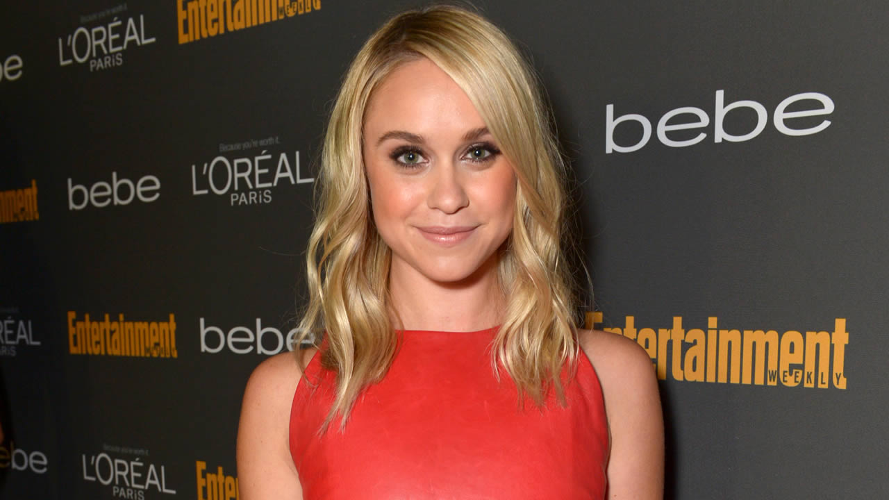 FILE - This Sept. 20, 2013 file photo released by Entertainment Weekly shows Becca Tobin  (AP Photo/Entertainment Weekly, Todd Williamson, FIle)