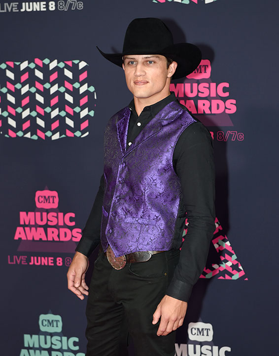 <div class='meta'><div class='origin-logo' data-origin='none'></div><span class='caption-text' data-credit='Sanford Myers/Invision/AP'>Professional Bull Rider Bonner Bolton is competing on this season of ''Dancing with the Stars.''</span></div>