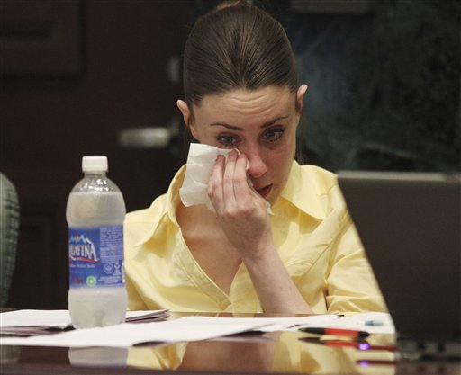 "<div class=""meta image-caption""><div class=""origin-logo origin-image none""><span>none</span></div><span class=""caption-text"">Casey Anthony reacts as the state presents its closing arguments in her murder trial in Orlando, Fla., Sunday, July 3, 2011. (AP)</span></div>"