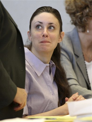 "<div class=""meta image-caption""><div class=""origin-logo origin-image none""><span>none</span></div><span class=""caption-text"">Casey Anthony appears in court at the Pinellas County Criminal Justice Center, Tuesday, May 10, 2011, on the second day of jury selection in her trial, in Clearwater, Fla. (AP)</span></div>"