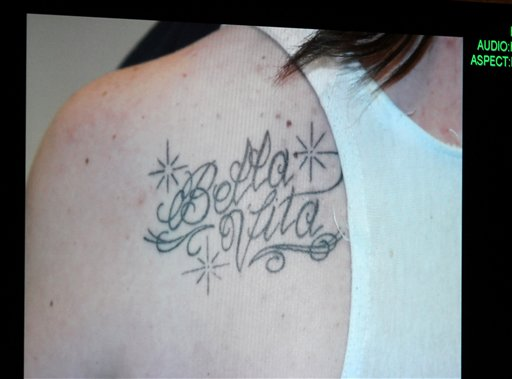 "<div class=""meta image-caption""><div class=""origin-logo origin-image none""><span>none</span></div><span class=""caption-text"">A photograph of a tattoo that Casey Anthony received while her daughter Caylee was reported missing. (ASSOCIATED PRESS)</span></div>"