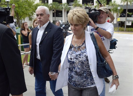 "<div class=""meta image-caption""><div class=""origin-logo origin-image none""><span>none</span></div><span class=""caption-text"">George Anthony, left, and Cindy Anthony, parents of Casey Anthony, arrive at the Orange County Courthouse for Casey Anthony's sentencing in Orlando, Fla. (ASSOCIATED PRESS)</span></div>"