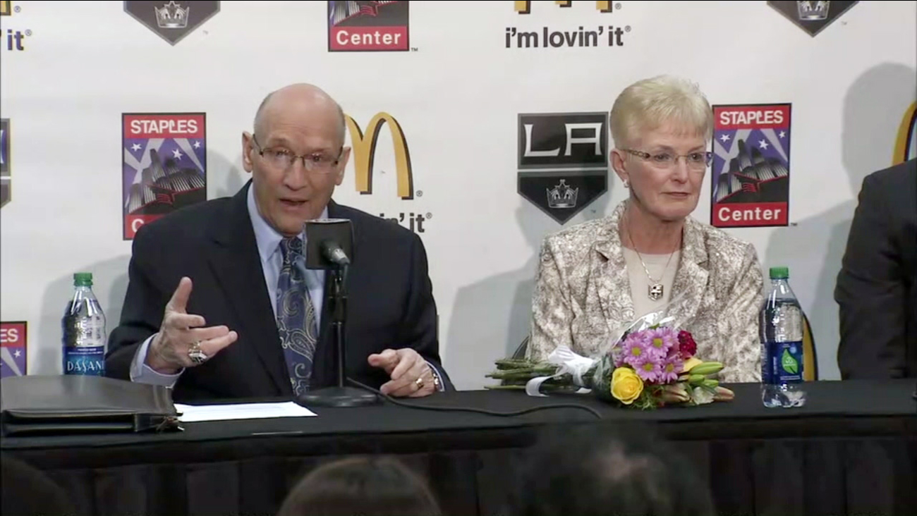 Longtime Los Angeles Kings announcer Bob Miller said he will retire during a press conference held on Thursday, March 2, 2017.