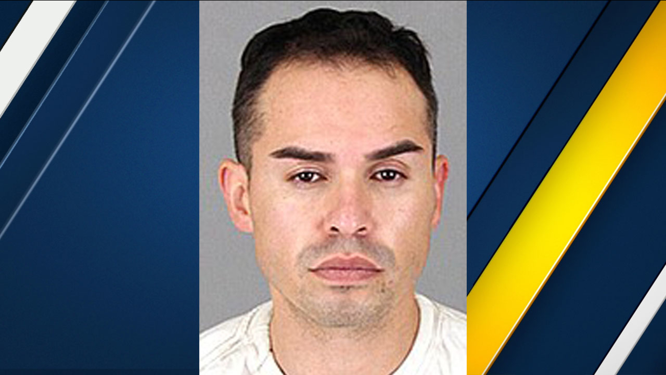Juan Carlos Valencia, 33, of Fontana, is shown in a mugshot.