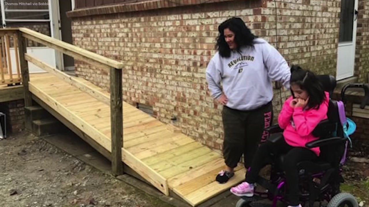 Bus Driver Builds Ramp For Student He Just Met
